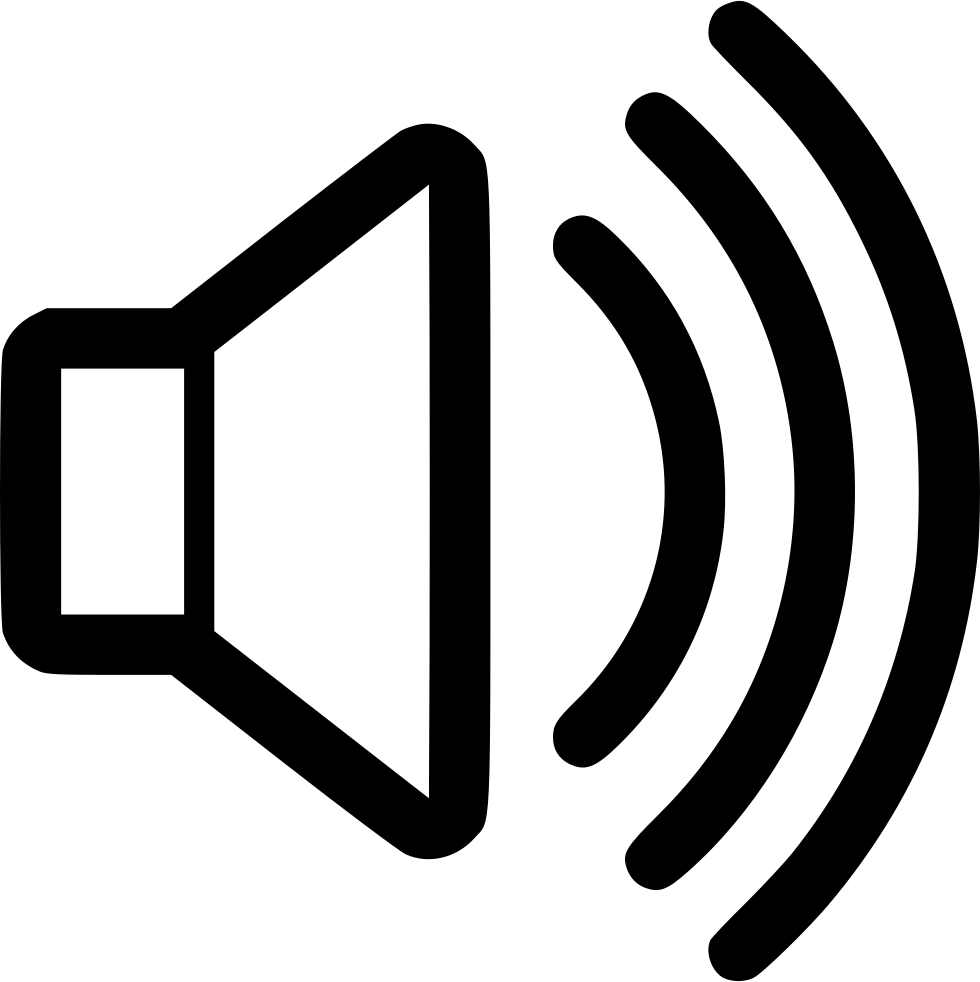 Sound icon png. Svg free download onlinewebfonts