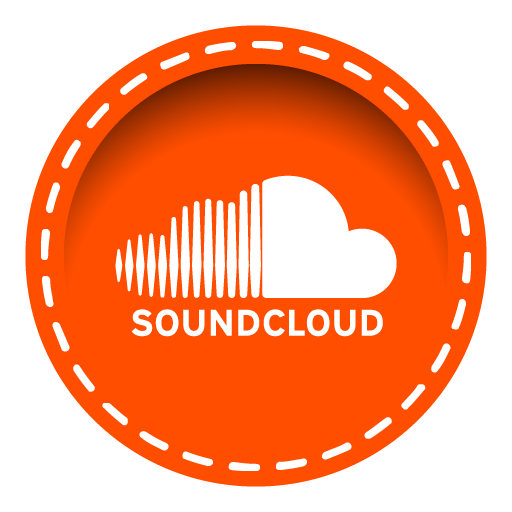 Soundcloud png. Icon stitched social media
