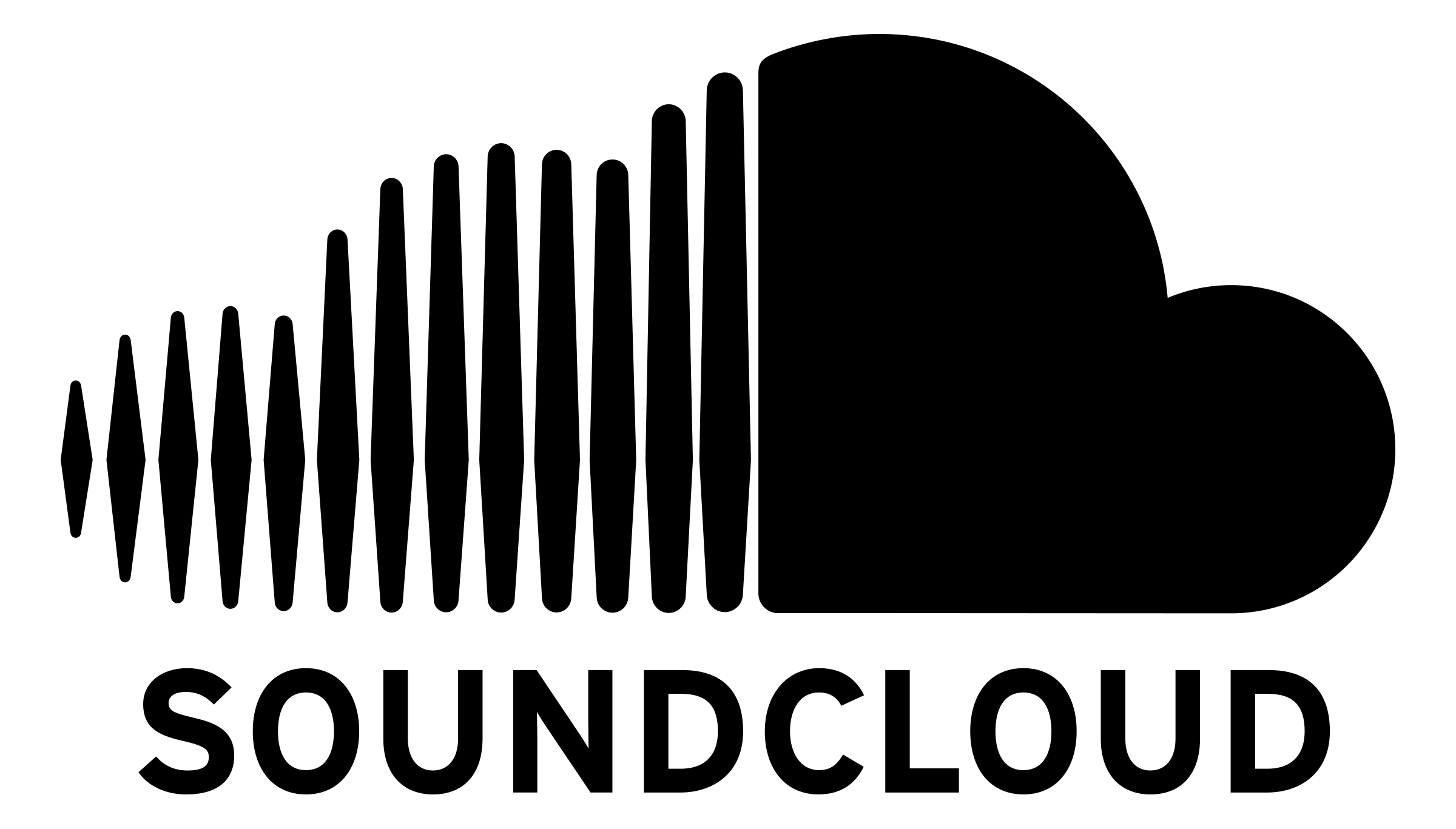 Soundcloud logo png. Transparent svg vector freebie