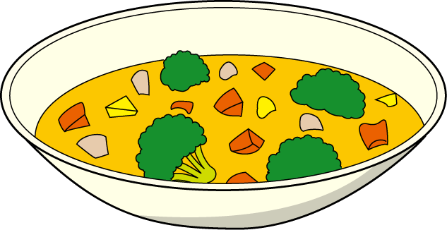 Free soup pictures clip. Veggies clipart chicken banner