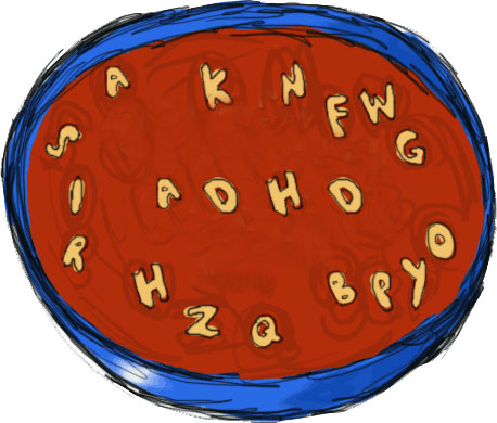 soup clipart alphabet soup