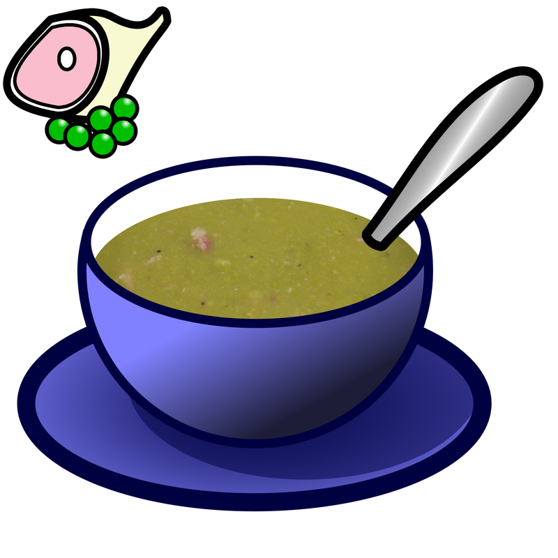 Soup clipart green soup. Symbol food talksense pea