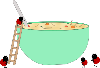 Bowl transparent water clipart. Chicken soup clip art