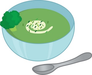 soup clipart green soup