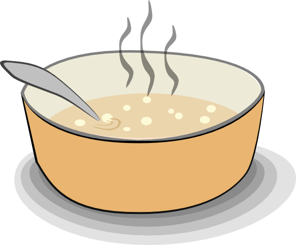 bowl clipart corn soup