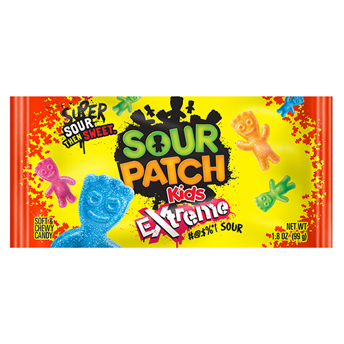 Sour patch kids logo png. Extreme soft chewy candy
