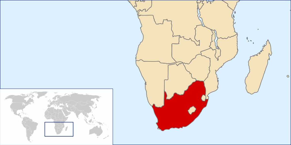 South Africa. And weapons of mass