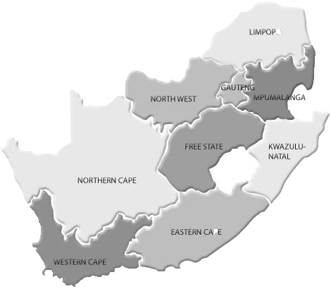 South africa map png. Sait homepage