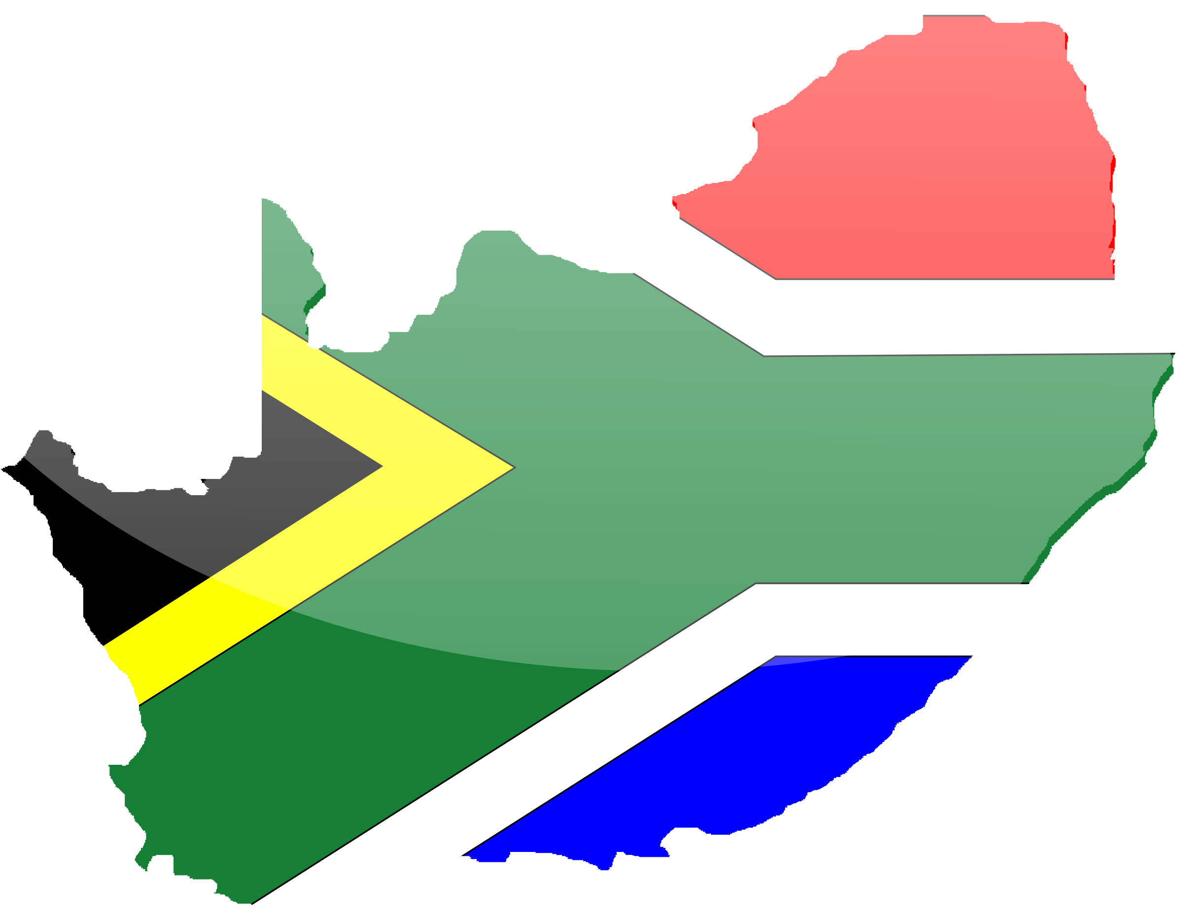 South africa png. African flag icons free