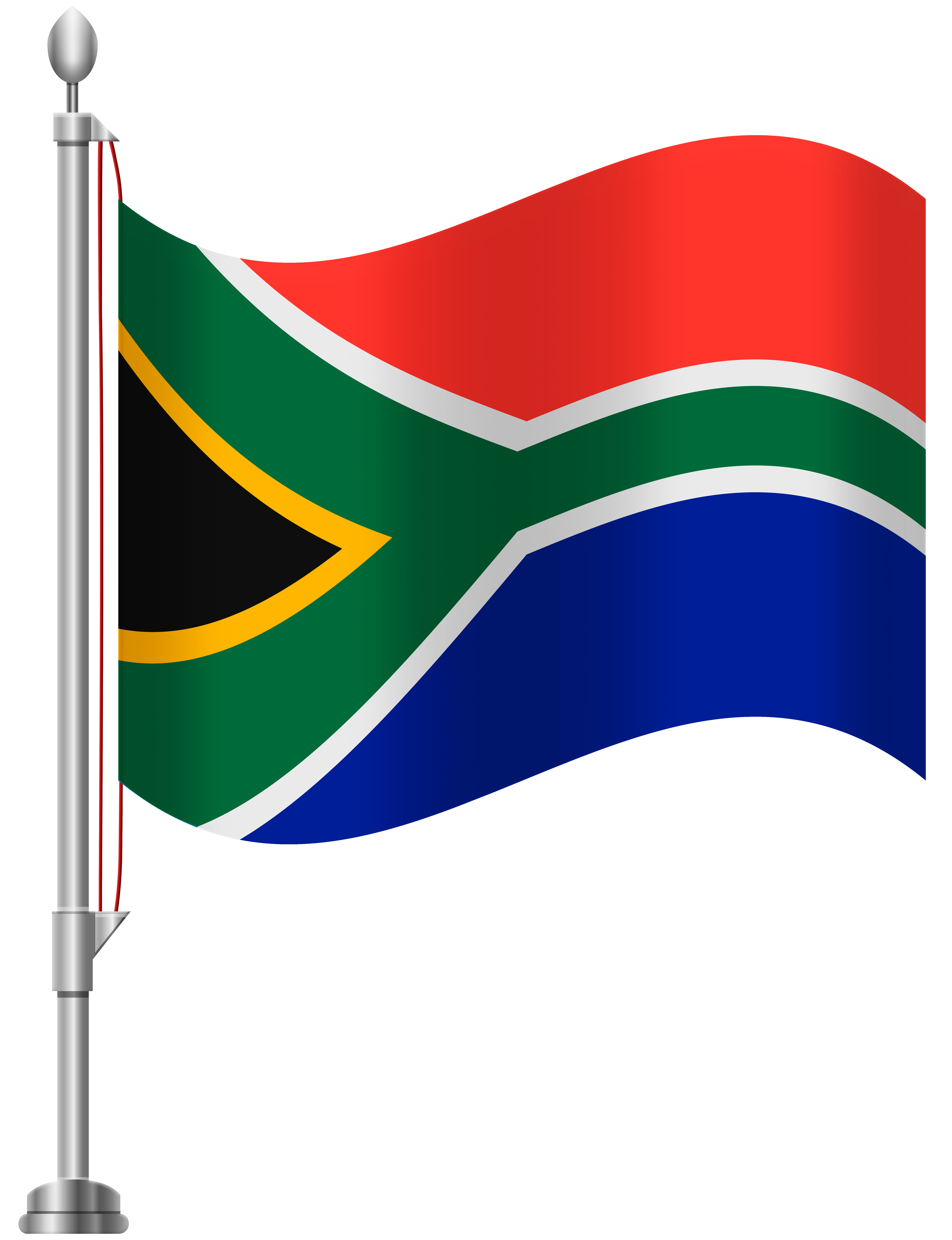 South africa png. Flag clip art best