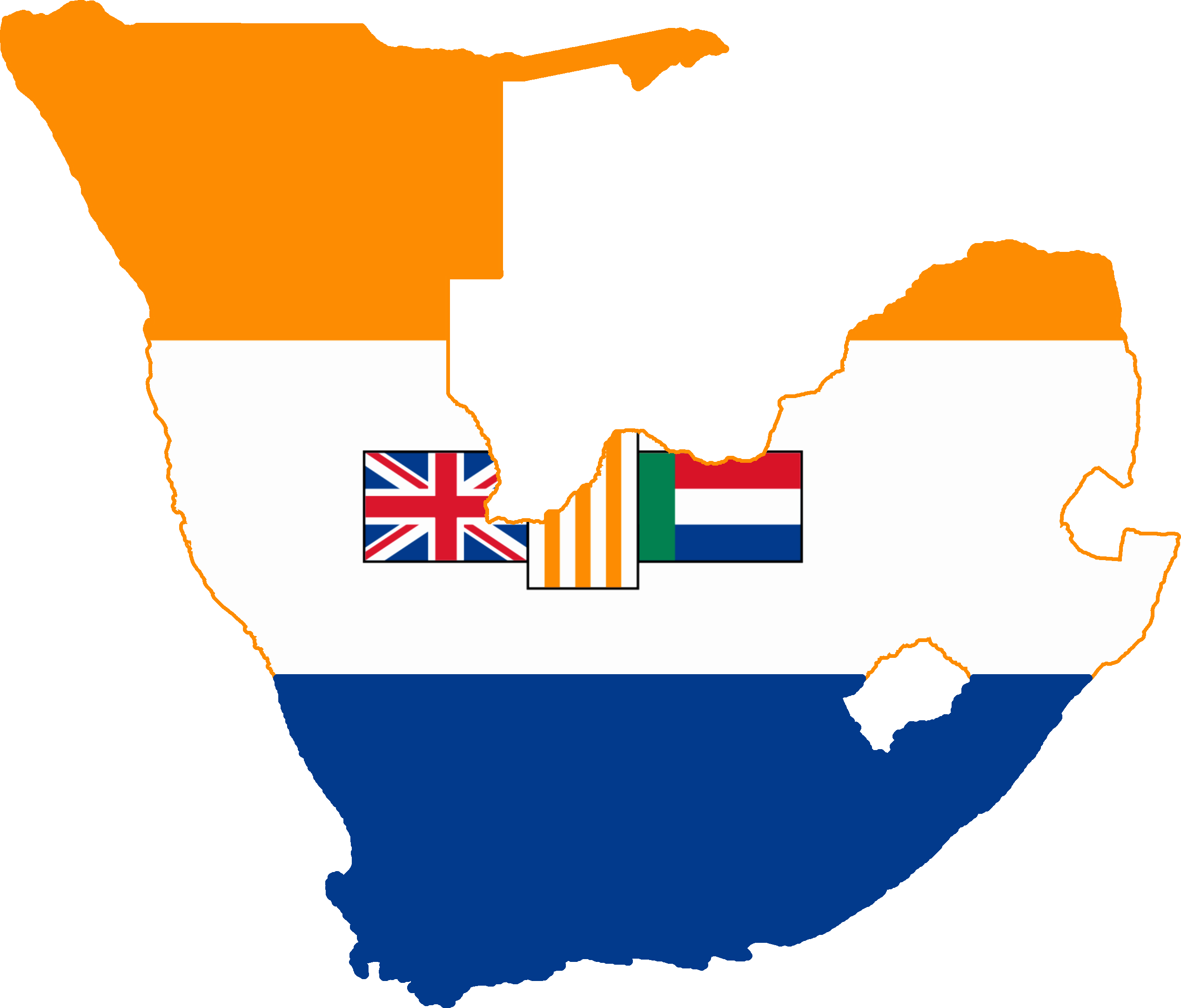 South africa png. File flag map west