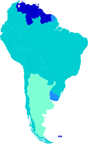 South america map png. Ages of consent in