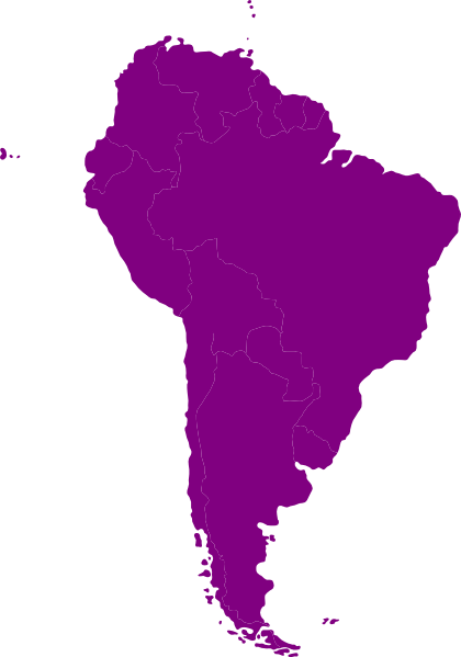 South america outline png. Continent of clip art