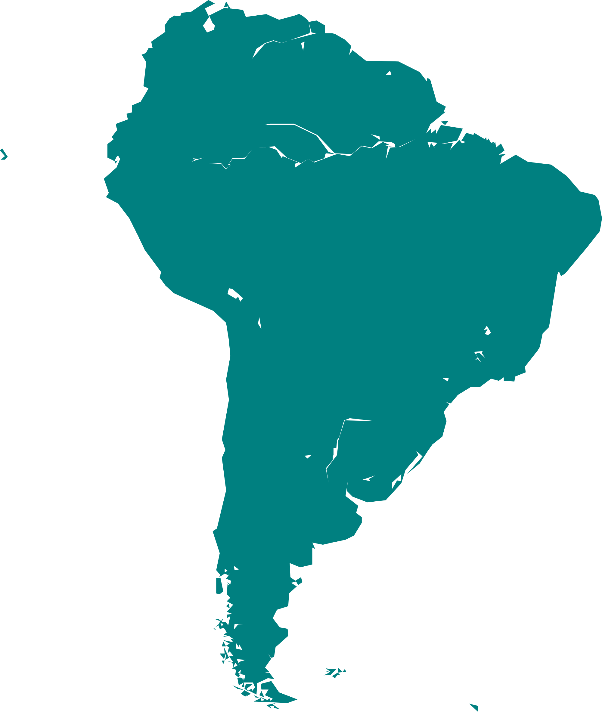South america outline png. File cartography of svg