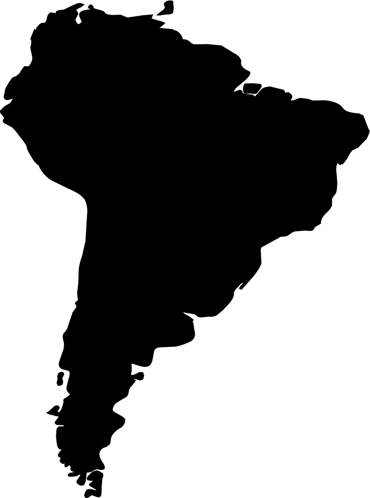 South america png. Font svg icon free