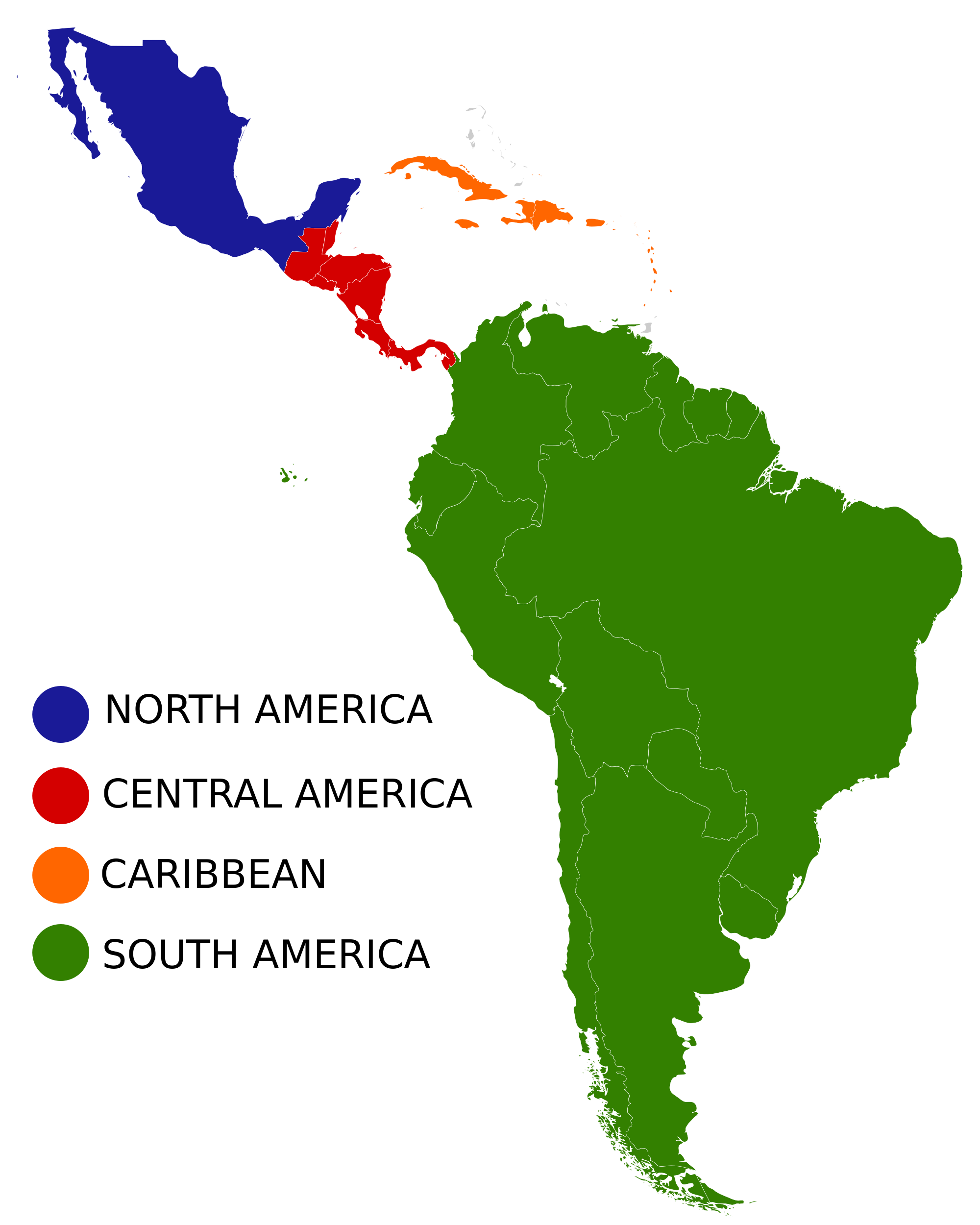 South america png. Image latin regions cold
