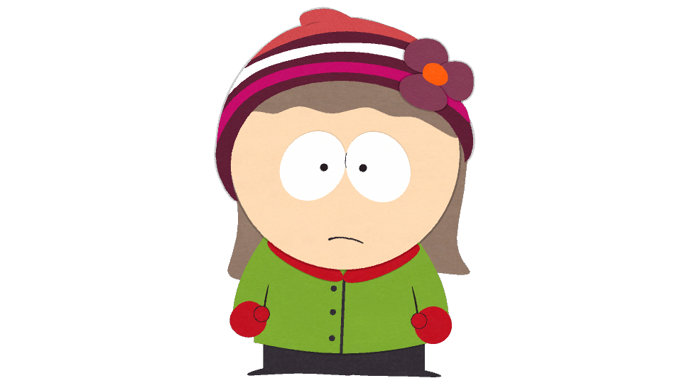 cartman transparent hat
