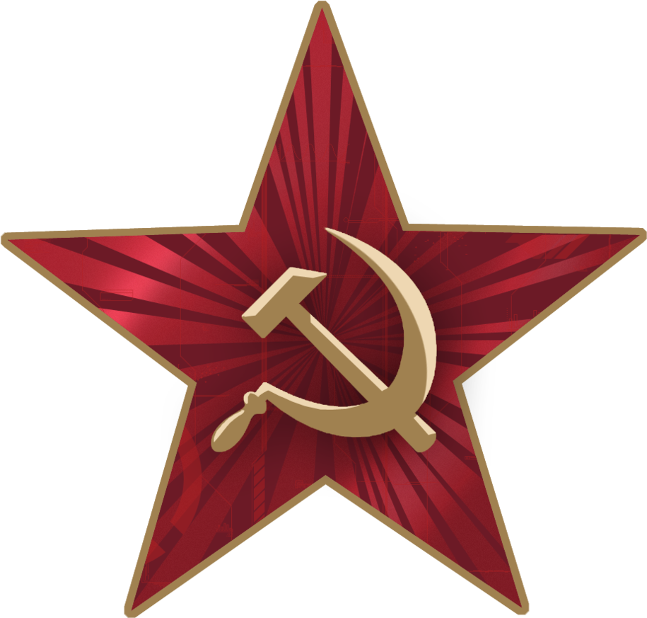 Soviet star png. By lt commander on