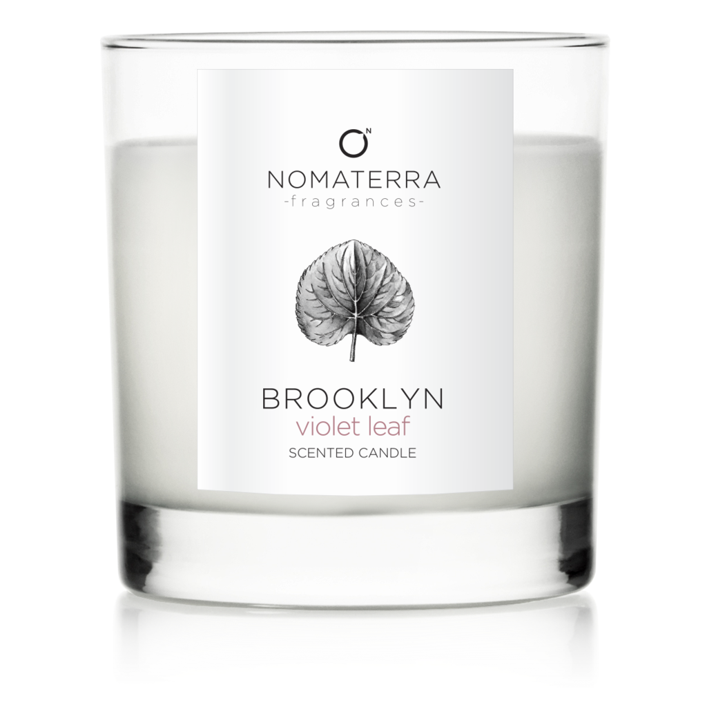 Soy candles png. Brooklyn violet leaf hand