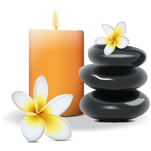 spa candles png