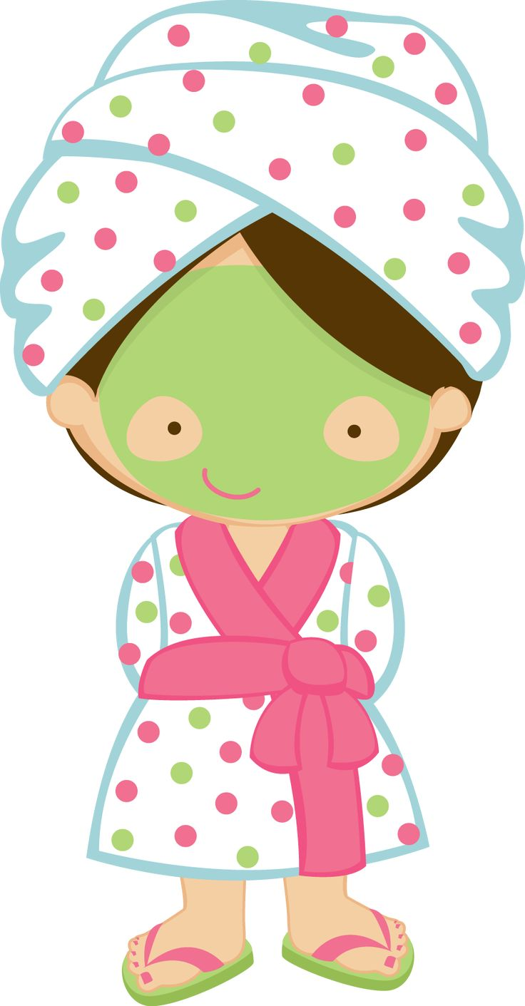 Spa clipart cartoon.  best day minus clip black and white
