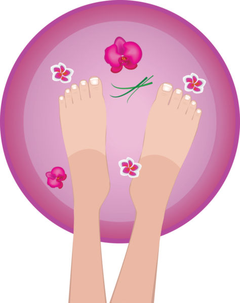 spa clipart foot spa