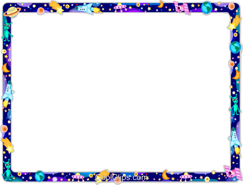 Space border png. Collection of clipart