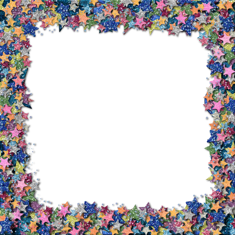 Space border png. Glitter star by hggraphicdesigns