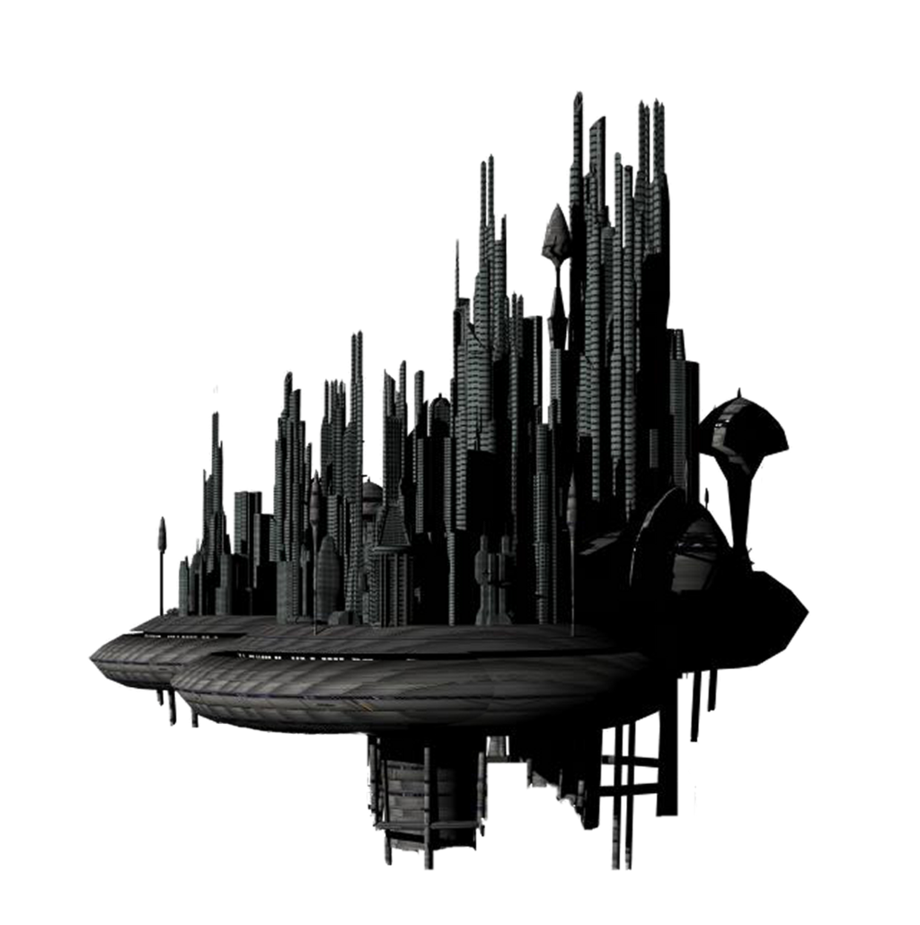 Space city png. Fantasy transparent image mart