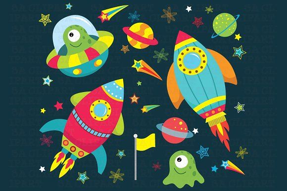 Space clipart space race. Outer by sa on