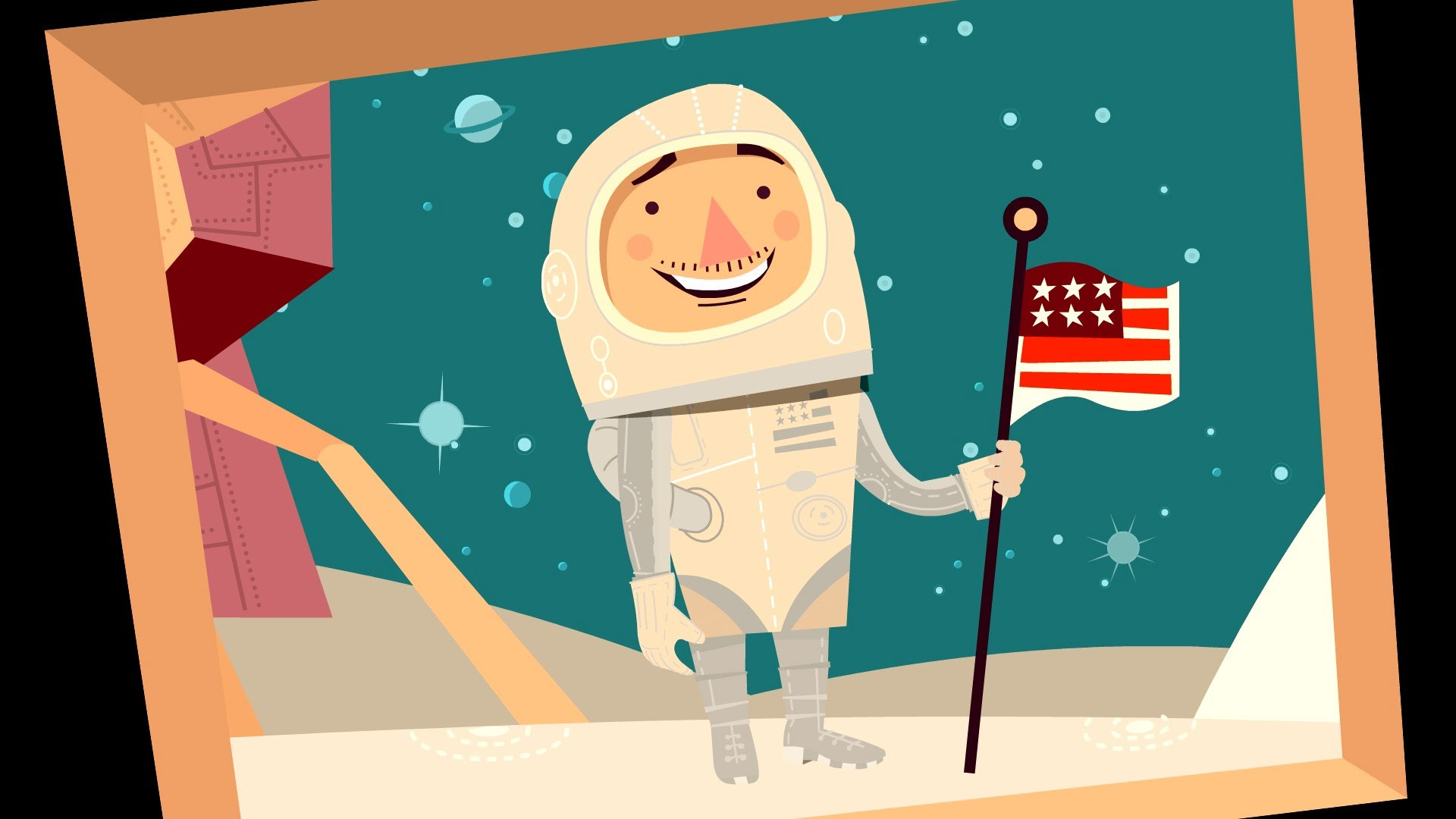 Space clipart space race. Who won the jeff
