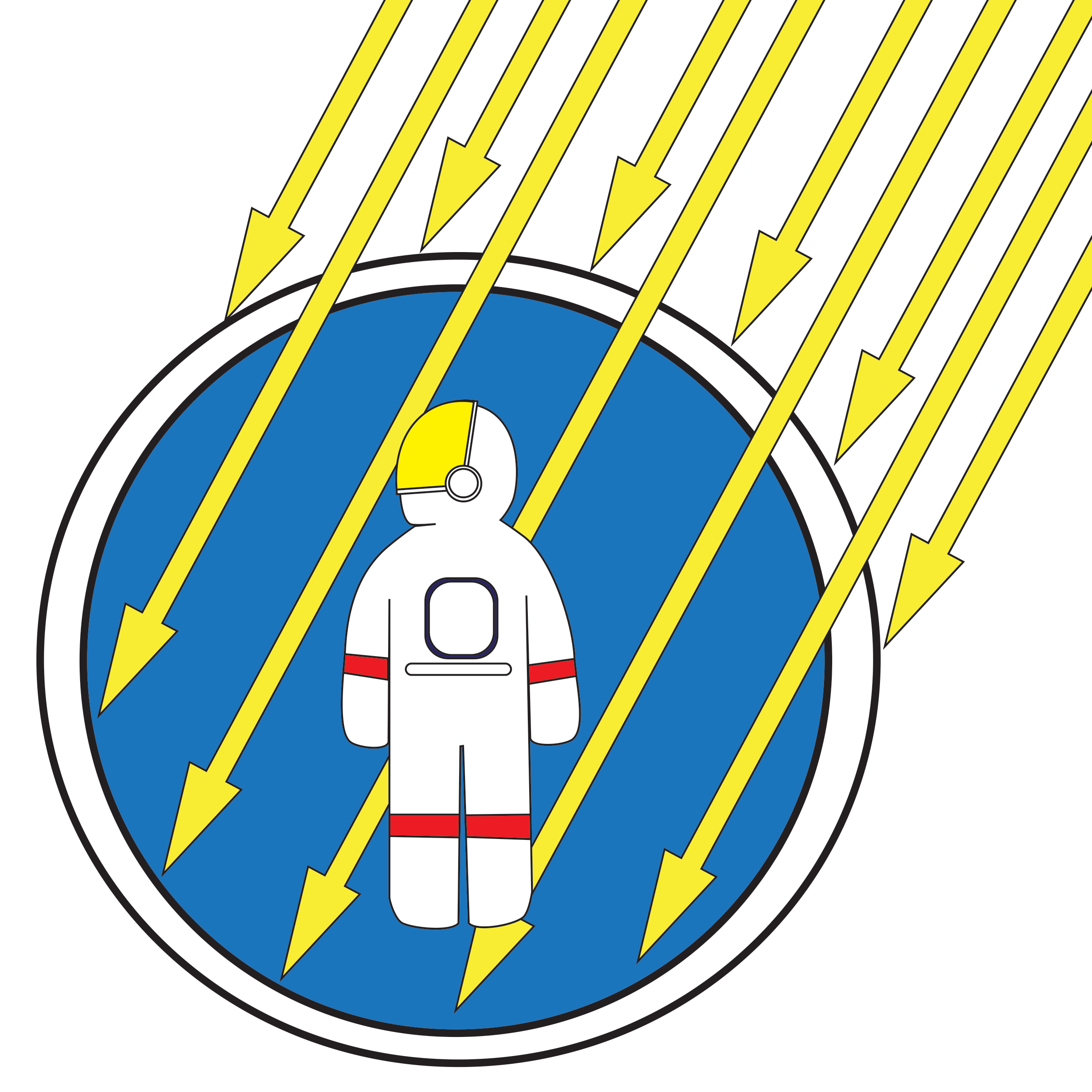 Space clipart space research. Radiation risks nasa hrp