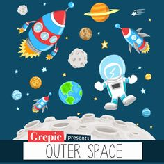 Space clipart space thing. Crazy free printable characters