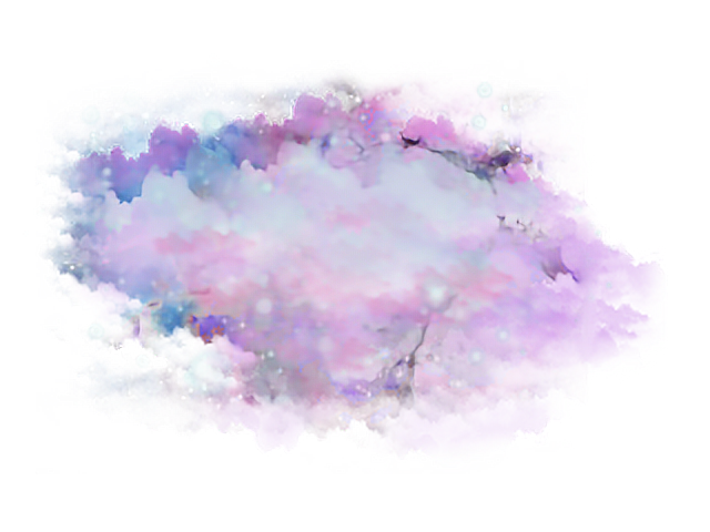 Space cloud png. Painting clouds sky moon