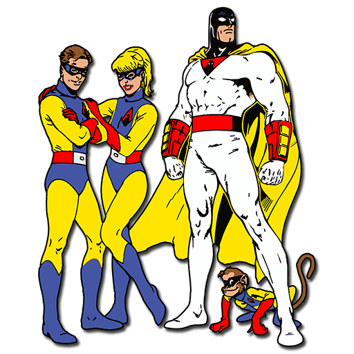Space ghost png. And dino boy tv