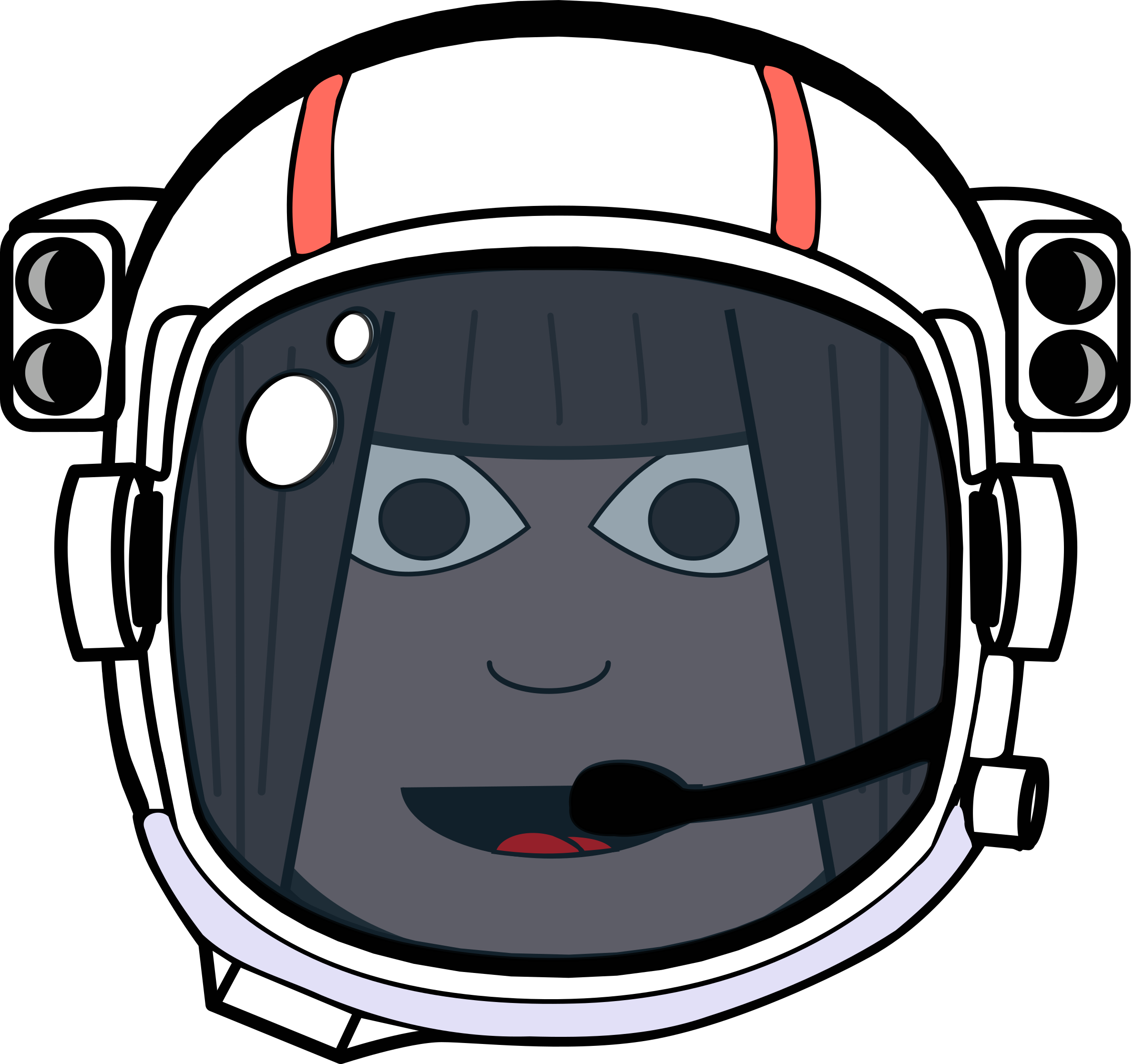 Helm vector traditional. Space girl icons png