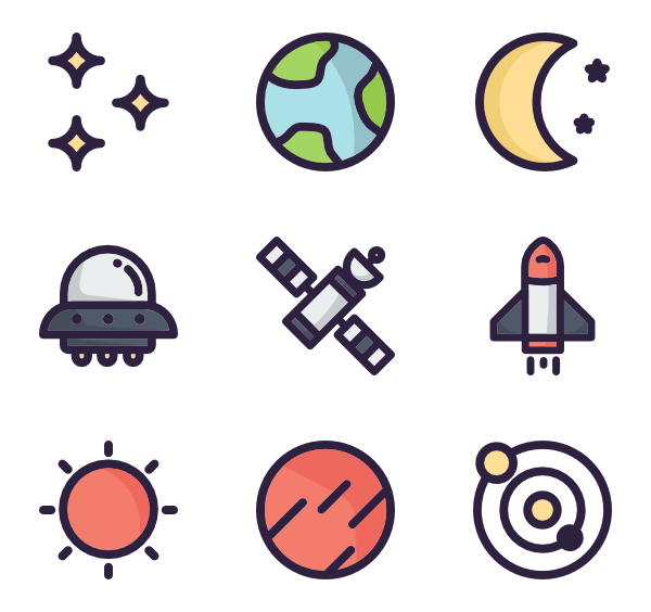 Space icon png. Free download rocket travelling