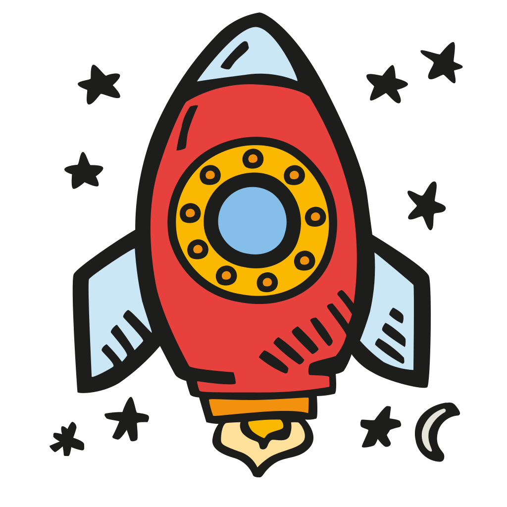 Space icon png. Rocket free iconset good