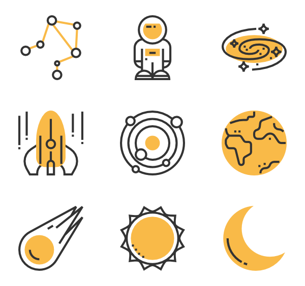 Space icon png. Packs vector svg