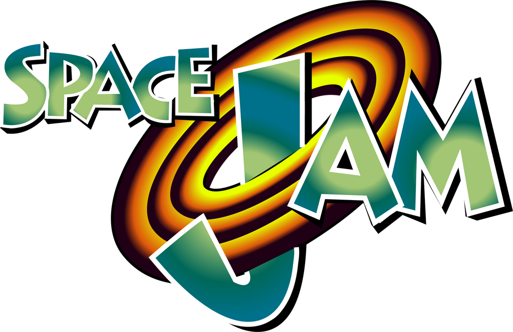 Space jam png. I did a vector