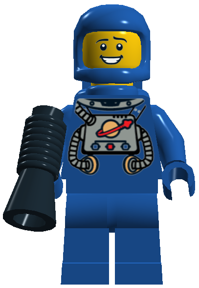 Space man png. Image benny the brick