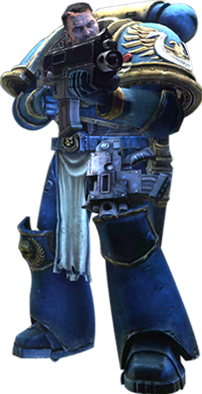 Space marine png. Image sm bolter hero