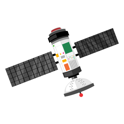 Space probe png. Icon transparent svg vector