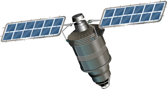 Space satellite png. Transparent images all free