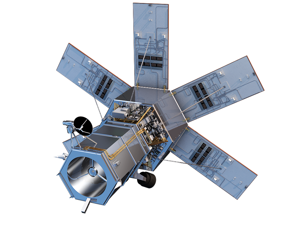 Space satellite png. Wv nofoil rotation project