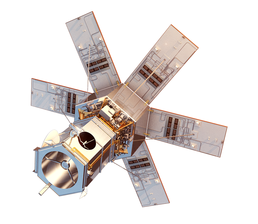 Worldview imaging and data. Space satellite png image black and white stock