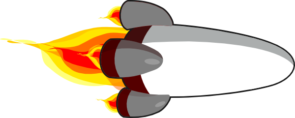 Nuclear drawing rocket blast. Ship transparent png pictures