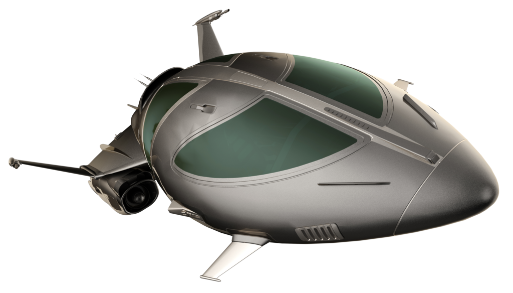 Spaceship png. By hz designs on