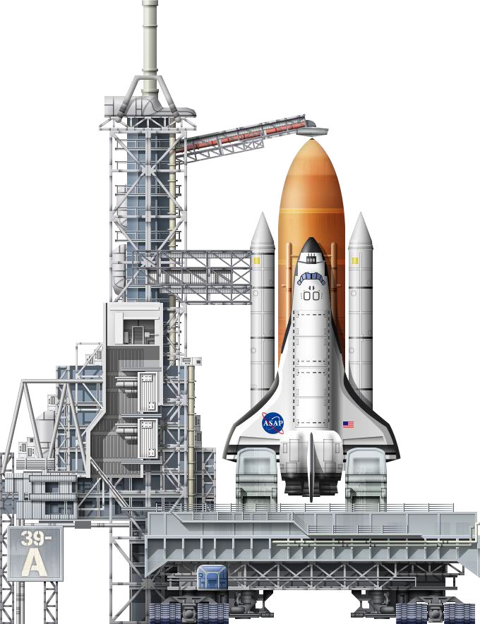 Space shuttle launch png. Pad a trainstation wiki