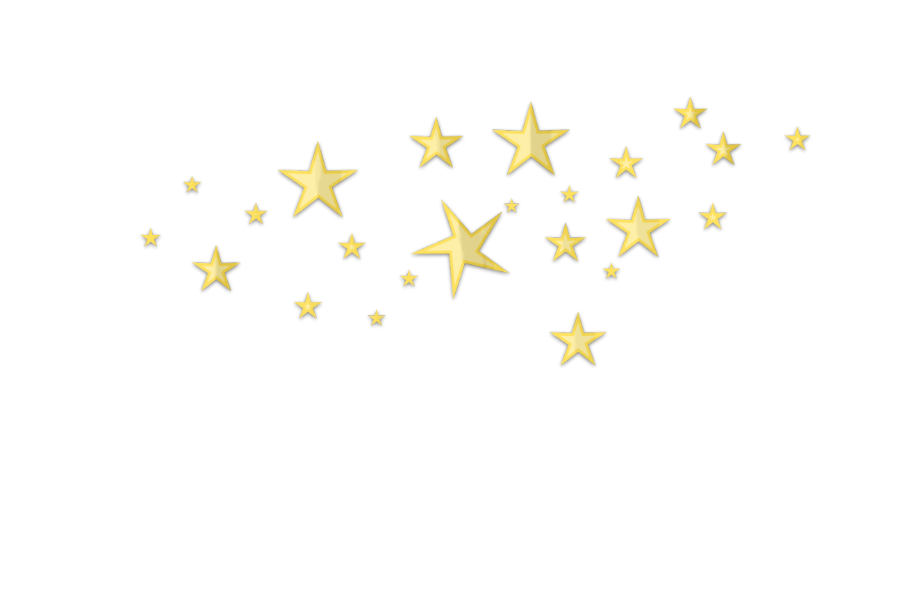 Space stars png transparent. Star d clutter gold